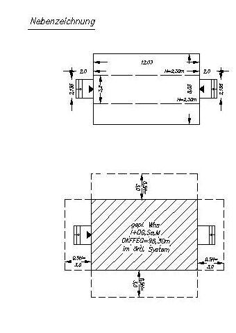 projekteintragung und abstandsfl chenberechnung alles f r den bauantrag und baueingabepl ne. Black Bedroom Furniture Sets. Home Design Ideas